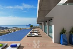 Luxury apartments in Cumbre del Sol
