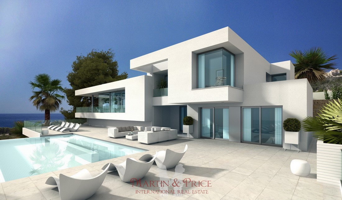 Luxury villa cumbre del sol moraira costa blanca for Villa de luxe contemporaine