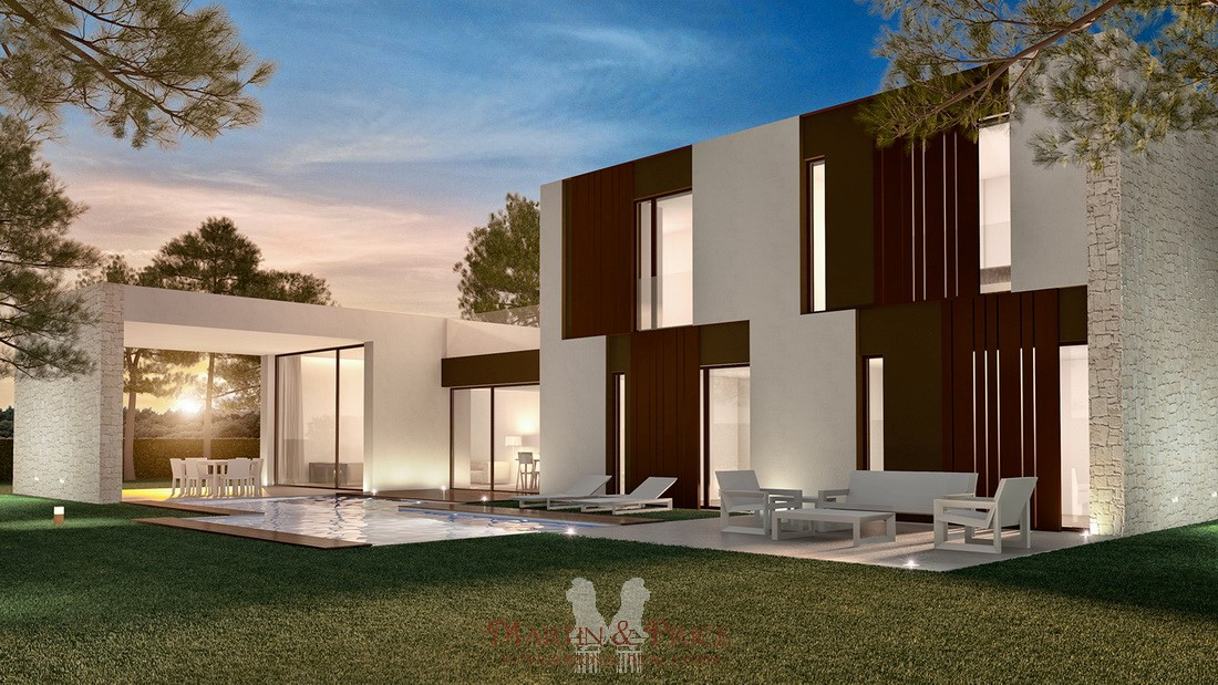 Luxury brand new villa in Moraira