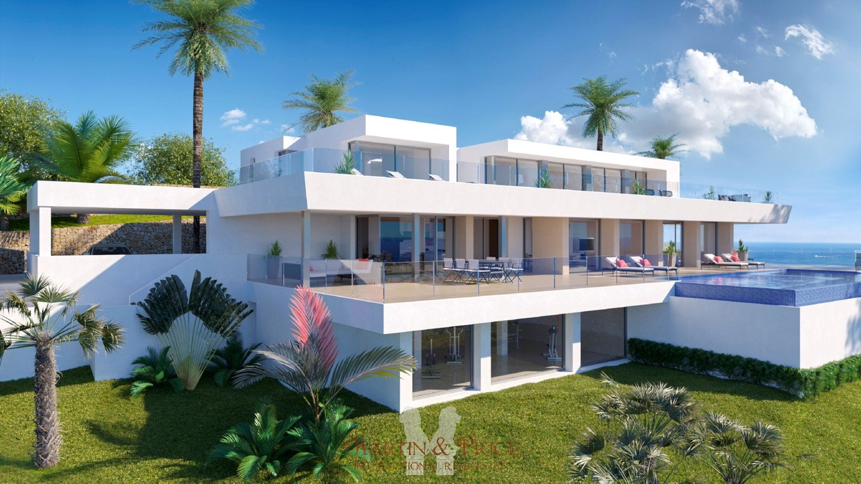 Exclusive villa in Cumbre del Sol