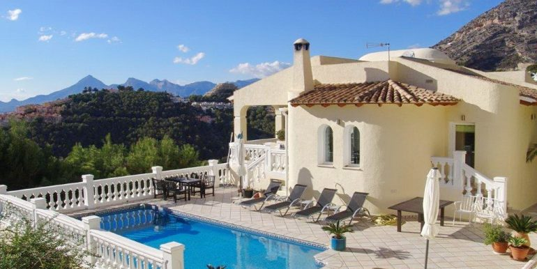 beautiful villa for sell in altea hills