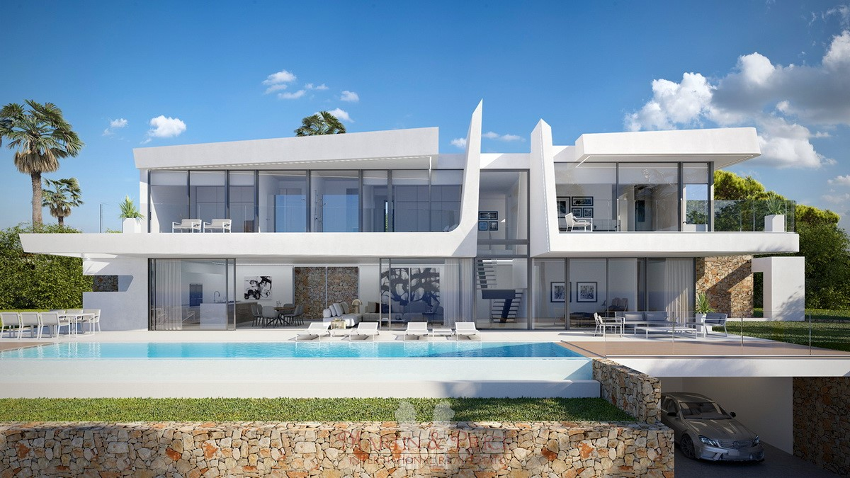 Exclusive villa in Moraira